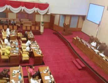 DPRD Kota Batam Gelar Rapat Paripurna Penetapan Kembali Pansus