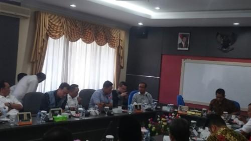 Nuryanto Pimpin Rapat Koordinasi Terkait Perubahan Agenda Bulan Oktober