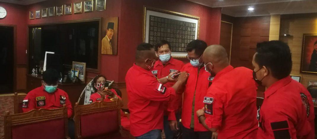 Ketua DPRD Kota Batam Terima Audiensi Pemuda Batak Bersatu