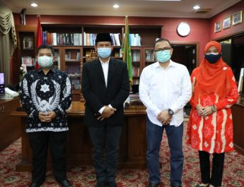 Pimpinan DPRD Kota Batam Terima Kunjungan Penelitian Unggulan dari IPDN