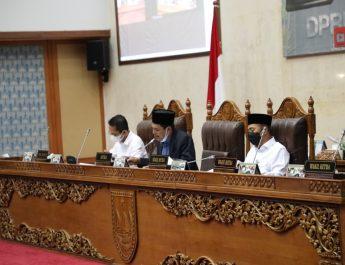 Wali Kota Batam Sampaikan Tanggapan terhadap Pemandangan Umum Fraksi atas Ranperda APBD 2021