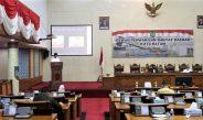 DPRD Kota Batam Gelar Rapat Paripurna LKPJ dan Perubahan APBD