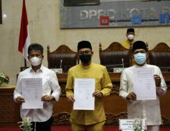 DPRD Batam Gelar Paripurna Agenda Pendapat Wali Kota atas Pembahasan Ranperda Perubahan APBD TA 2021